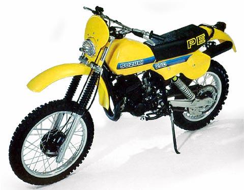 1981 Suzook PE 250 enduro