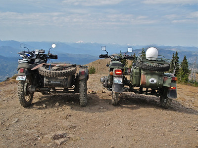 Dave and Don on Chumstick Mountain 9-8-12