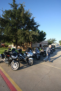 Riders have started to meet for a nice breakfast in North Richland Hills...at Christie's Extreme Hamburgers....8 am....most Saturdays. It was a beautiful morning. A 200 mile north Texas ride followed breakfast. We ended at Grif's Cycle Sports in Lewisville for a hotdog and to have out bikes washed by bikini clad women. A good day...all in all... Christie's Extreme Burgers 5209 Rufe Snow Dr, North Richland Hills, TX  (817) 656-9999