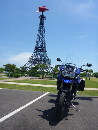 A stop in Paris and a quick visit to the Texas version of the Eiffel Tower!  What a great day.