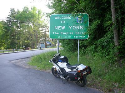 New York state line.