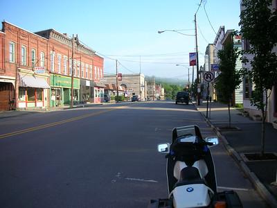 Main street in Hawley.