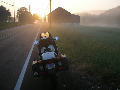 Sunrise on PA 209