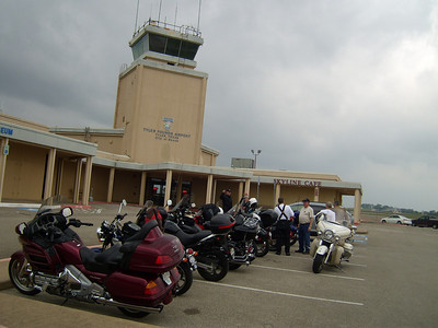Tyler Pounds Airport with the Skyline Cafe and HAMM Museum.
