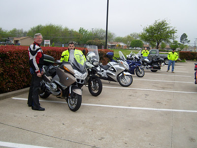 Good turnout for the ride