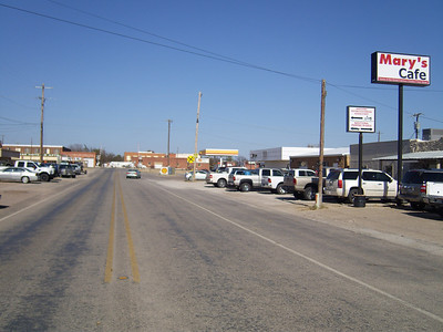 The metropolis of Strawn, TX.