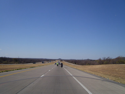 What is not to love about riding a bit on I-20 West on a windy day?!?!?!