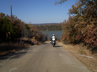 A pretty cool ride around Lake Palo Pinto.