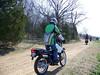 Slow riding.  Larry Floyd.