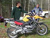 Jeff and Mark Jamroz, the BMW Area Rep and instructor at the GS Challenge.