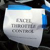 Interesting throttle lock.  See the next picture.