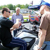 Teach explains to Dave Hunter how the K1600GTL is a smart bike.