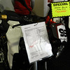 The Touratech-farkled F800R was offered at $12K for the day only.