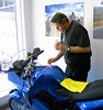 Dave checks out a new F800.  This one has a sold sign on it.