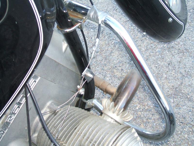 Jean broke a throttle cable in Trona.