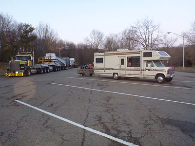 Stayed the night at the rest stop on Rt84 in Danbury, CT.