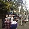 The long line at Russian River Brewing