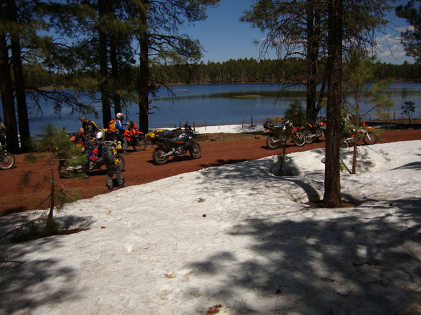 Coleman Lake south west of Flagstaff