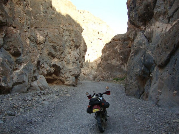 Echo Canyon bypass in Death Valley Day 7