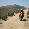 Primitive road across Mojave Preserve Day 9