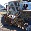 Ballarat ghost town caretakers love to pass down the story that this was Charlie Manson's old Dodge Power Wagon.