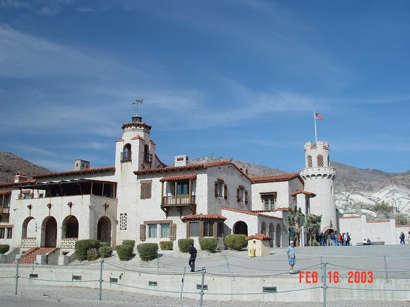 "Main building at ""Scottys Castel"""