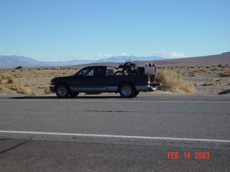 Dakota, truck and the R80G/S
