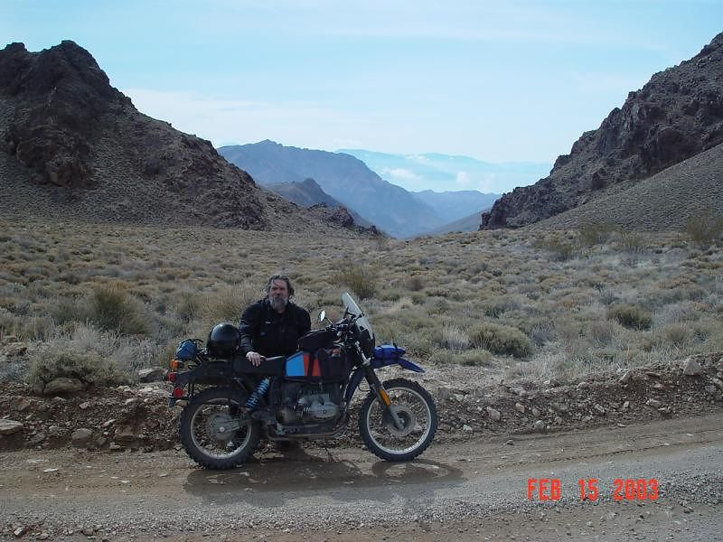 On the way to Titis Canyon