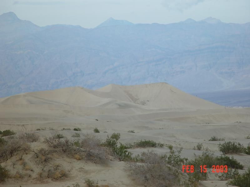 Sand dunes near Stove Pipe Wells
