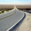 ...and vanishing across the Mojave desert.