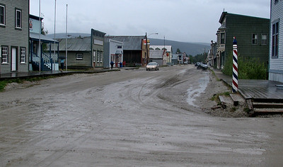 Dawson City.......a great dirt road town lookin' for gold!