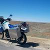 KLR 650 somewhere near the Kansas/Colorado border