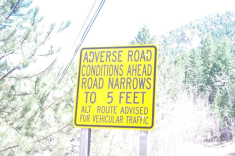 Near Rowena, CO