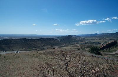 Panorama of Front Range Foothills (SE)