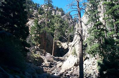 Boulder Falls on Colorado 119
