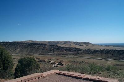 Panorama of Front Range Foothills (NE)