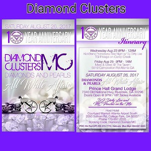 Diamond Clusters 10th Anniversary Party