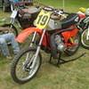 Maico with a kawasaki Triple H1 motor !