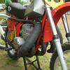 Maico with a Kawasaki 500cc H1 triple !
