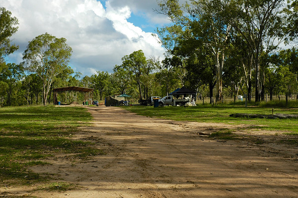 Before long we had the whole campsite to ourselves, including 2 amenities blocks that were cleaned daily.