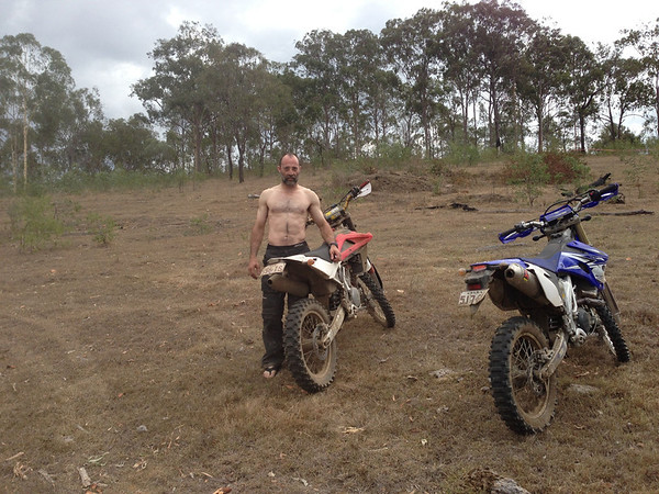 Buggered after 2 days of riding!