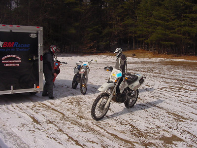 2006-02-18 Hardly a snow ride