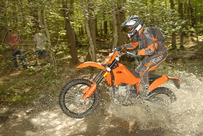 An Enduro, likely in 2008, before the new tank got all scratched up.
