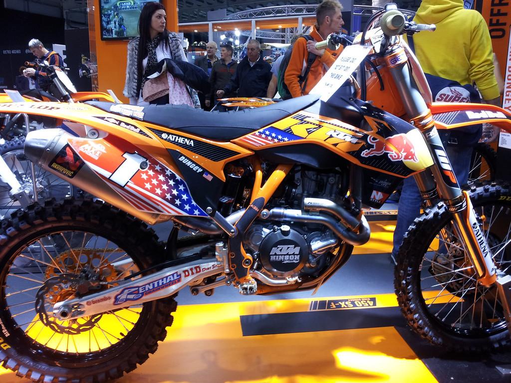 Ryan Dungey's bike