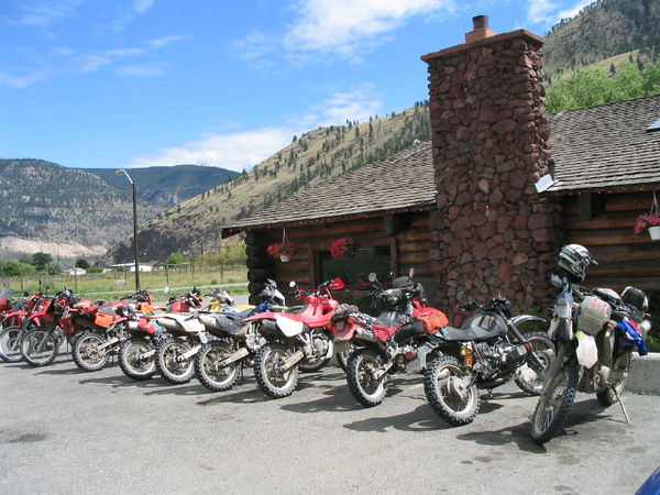 Lunch at Spences Bridge