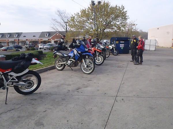 Dirty Dozen ride Mar 2012 Middleburg