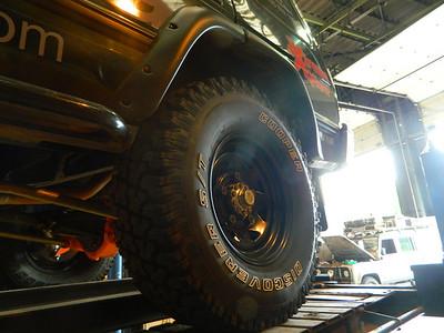 Disco 1 wheel arch kit (TF114)