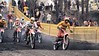 Second moto start - me on a KTM #35 and Thad Friday #27 and Jeff Drummen #28 on the Bultaco