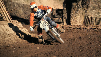 I'm not sure who this guy is racing an OSSA? EDIT: 12-15-2010 - Rodney thanks! of course it is Marty Moates. Why didn't I think of that, Thx, George.