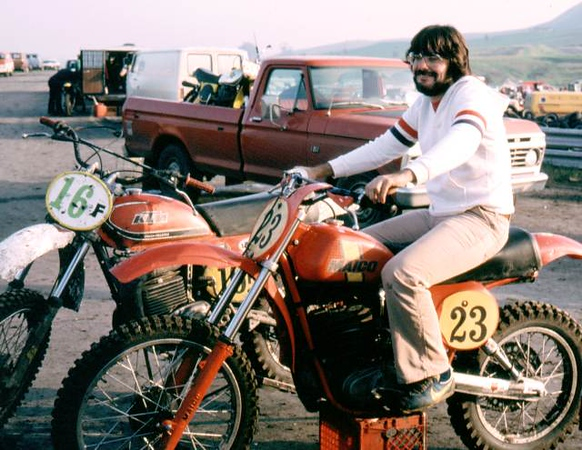 Jim Gianatis - MX journalist and photographer extraordinaire (Cyclenews)